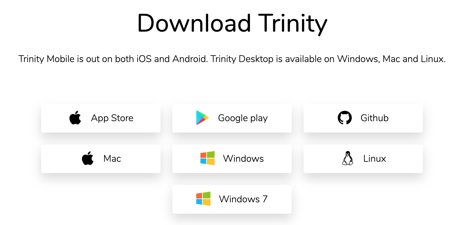 Step 1: Download Trinity IOTA Wallet